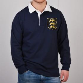 Camiseta rugby vintage leones británico-irlandeses años 30
